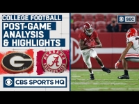#3 Georgia vs #2 Alabama Analysis & Highlights: Tide shut out Dogs in 2nd half | CBS Sports HQ