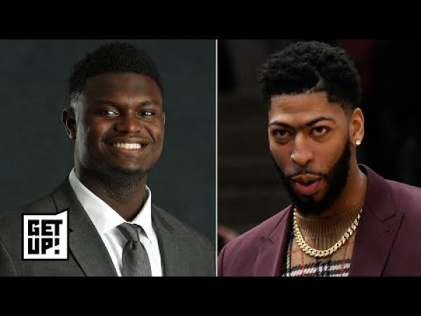Zion could be the Pelicans' path to rebuild after Anthony Davis leaves - Woj | Get Up!