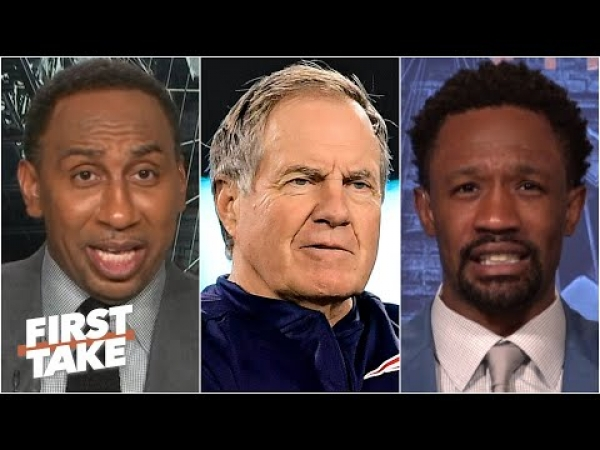 First Take reacts to the Patriots' $1.1M fine & lost 2021 draft pick for filming the Bengals