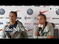 U.S. women's national soccer team prepares for next game