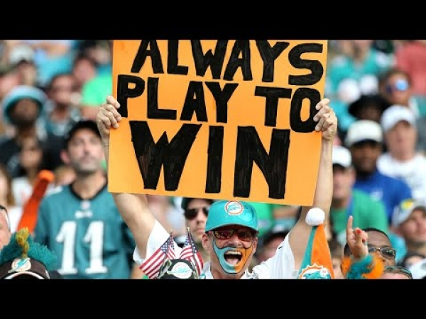 "Miami Dolphins coach calls team ""fighters"" after beating Philadelphia Eagles"