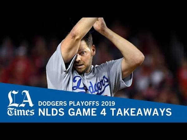 Dodgers on brink of elimination after NLDS Game 4 loss