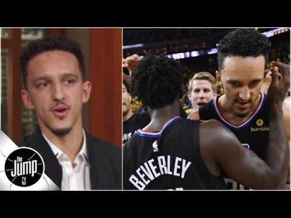 Landry Shamet talks about Clippers' Game 2 comeback vs. Warriors, game-winner and more | The Jump