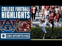 #13 Auburn vs South Carolina Highlights: Gamecocks have 1st win over Tigers since '33| CBS Sports HQ