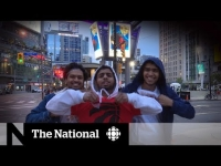 Raptors afterglow: Fans celebrate NBA championship win the day after
