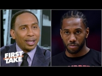 Stephen A.: Kawhi has been described as 'selfish' & 'indifferent' | First Take