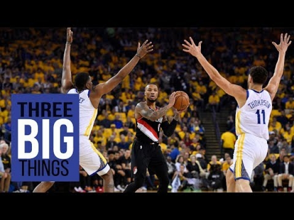3 Big Things: Warriors give Blazers a taste of real playoff basketball