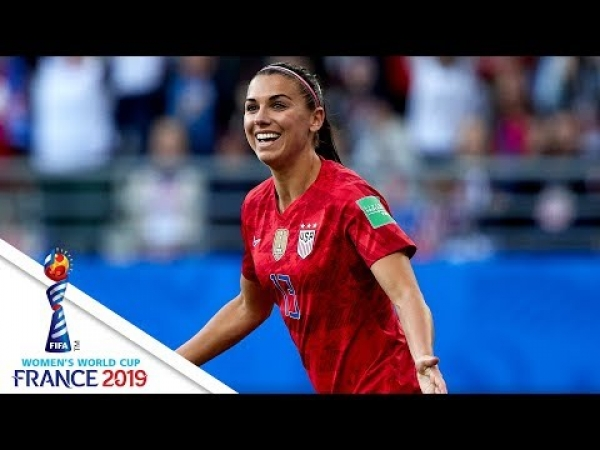 ALL 5 OF ALEX MORGAN'S GOALS AGAINST THAILAND